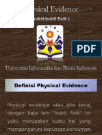 presentasi physical evidence