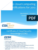 Top 10 Cloud Computing Certifications