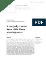 Creativity and Strategic Thinking