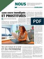La DH - Salvi entre mendiants et prostituées - 05.09.13