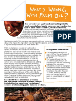 What's Wrong With Palm Oil? (Lush Factsheet)