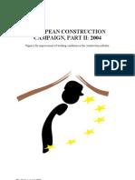 EU Construction Campaign Report2004