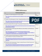CRMA Reference Resources