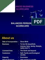 Balanced Personal Scorecard