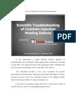 Scientific Troubleshooting Handout