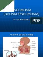 Pneumonia (Bronkopneumonia)