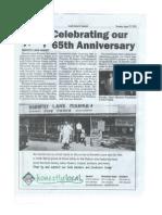 DLM's 65th Anniversary