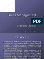 CH-1 Sales Management