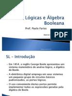 02 - portas lógicas e algebra booleana