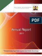 NCLR Annual Report 2011