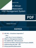 HSEMS Presentation