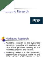 Mktg Research