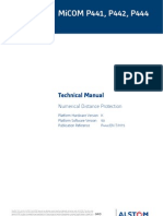 Www.alstom.com Global Grid Resources Documents Automation Technical Manuals MiCOM Alstom P44x Ver50K Manual GB
