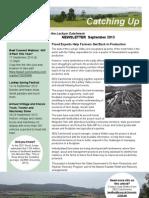SEQ Catchments Lockyer Catching Up Newsletter September 2013