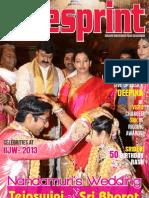 Cinesprint Magazine | Cine Magazine | Cinesprint volume 2 issue 5 | Andhra Wishesh