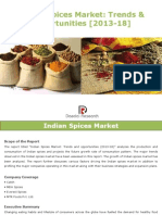 Indian Spices Market