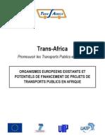 Organismes_europeens de financementdesTPenAfr