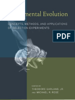 Theodore Garland, Jr. & Michæl R. Rose - Experimental Evolution--Concepts, Methods and Applications of Selection Experiments