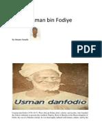 Shehu Usman Bin Fodiye