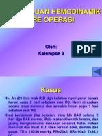 Pemantauan Hemodinamik Pre Operasi
