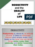 (1) Productivitquality & Quality