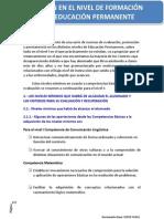14.- La evaluación en el nivel de Formación Básica