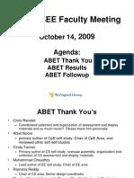 CSEE Faculty Meeting 10-14-09a