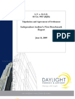 Doe Independent Audit First Benchmark Report Final