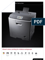 Midshire Business Systems - Lexmark CS748de - Colour Laser Printer Brochure