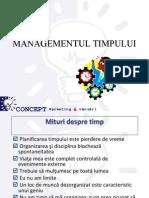 Management Ul Timpului Time Management
