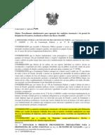 PORTARIA Nº 460 PROCEDIMENTO ADMINISTRATIVO APURAR CONDIÇÕES ESTRUTURAIS HOSPITAL DOS PRESCADORES