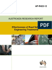 Effectiveness of Road Safety Engineering Treatments