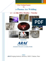 Brochure_Micro Plasma Arc Welding Training Programme 15-16 July 2013