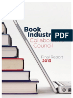 Book Industry Collaborative Council | Final Report 2013