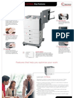 Midshire Business Systems - Lexmark CS796de -Key Features Brochure