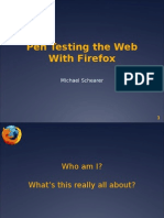 Pen Testing the Web with Firefox