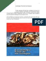 Escatologia Final de Los Tiempos Jose Grau