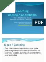 Apresentação para clientes sobre Coaching
