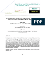 Development of Controller for Economic Load Dispatch by Generating Units Und
