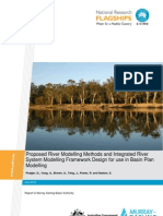 1527 Proposed River Modelling Methods CSIRO