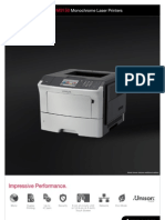 Midshire Business Systems - Lexmark M1145 -Monochrome Laser Printer Brochure