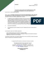 Rapport FMI Sur Le FEC