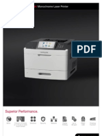 Midshire Business Systems - Lexmark M5100 Series - Monochrome Laster Printer Brochure
