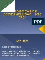 Indicadores de at Ntc 3701