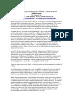 """Effective Inspection Techniques for Potential Arc Flash Incidents"""