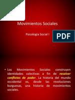 Movimientos Sociales.