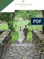 Connors Center Wedding Brochure