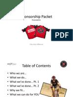 JJ Sponsorship Packet