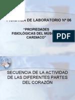 PROPIEDADES FISIOLÓGICAS DEL MÚSCULO CARDIACO