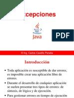Manejo de excepciones en Java